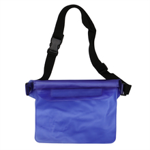 1PC Plastic Waterproof Cover Bag With Strap Sustainable Water Dry Beach Swimming Pool Pouch(China)