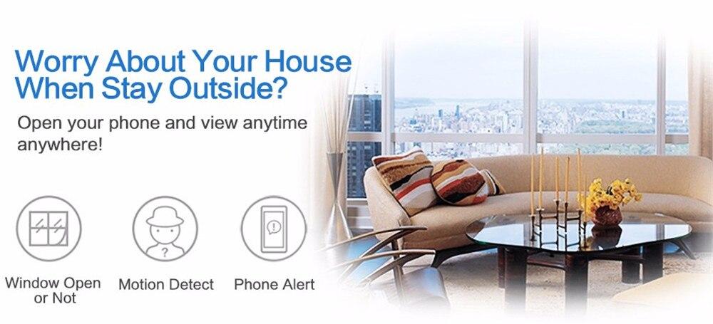 Wistino 720P Wireless IP Camera Motion Detection Home Baby Monitor IR Night Vision WiFi Camera Alarm Onvif Surveillance Security (4)