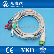 BLT for M700 with 5Lead ECG/EKG Cable with Leadwire,Snap,AHA one -piece ECG Cable,Proved CE ISO 13485 Manufacturer