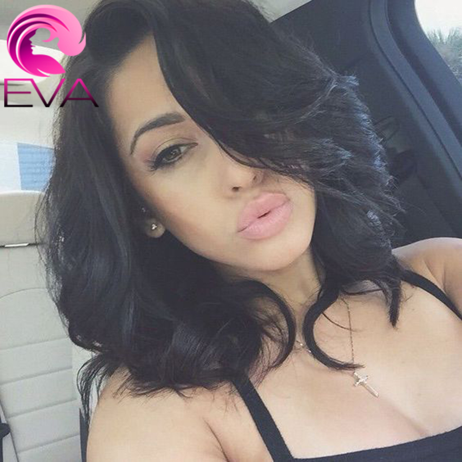 7A Brazilian Full Lace Wigs For Black Women Wavy Virgin Human Hair Bob Wigs Natural Hairline Short Lace Front Wigs Baby Hair<br><br>Aliexpress