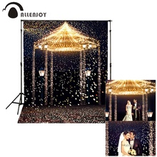 Allenjoy 5ftx7ft Wedding Photo Studio Backdrop Photography Background Star Highlights romantic aesthetic fireworks castle custom(China)