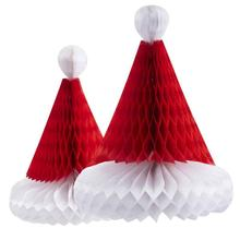 Handmade Honeycomb Christmas Trees Tissue Paper Trees Centerpiece/Table Center for Holloween Window Decor Tree Decor(China)