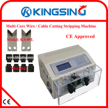 Factory Direct Sell Multicore Cable Wire Cutting Stripping Peeling Machine Cable Cutter Peeler KS-09L