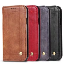 Buy Retro Flip Cover Wallet Case iPhone 8 Leather Case Luxury Card Holder Capa Samsung Galaxy Note 8 S8 S8 Plus for $5.21 in AliExpress store