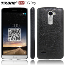 Buy TIKONO LG Ray X190 Case Cover Crocodile Skin Leather PC Plastic Hard Back Cover Phone Case LG Ray X190 Case Cover for $5.48 in AliExpress store