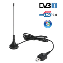 USB 2.0 Digital DVB-T HDTV TV Tuner Receive USB Stick DVB-T USB Dongle for Windows 7 8 10 PC Notebook