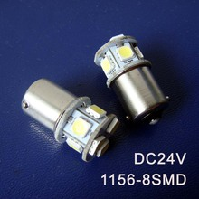 High quality 24V BA15s 1156,P21W,R5W,1141 Truck Goods van led Light Bulb lamp Rear Tail Turn Signal free shipping 100pcs/lot(China)