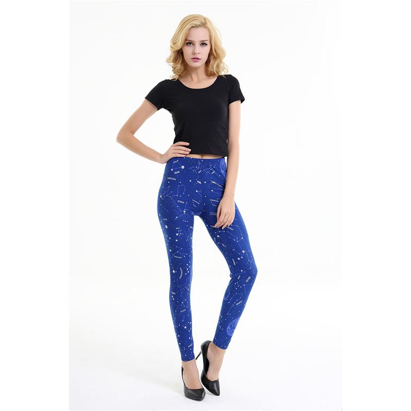Dasbayla 17 Women Print Fashion Leggings Low Waist Thin stretch Ankle Skinny Pants Sexy Slim Ladies leggings Female 02 6