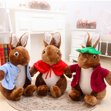 40cm Peter Rabbit Plush Toy Cute Rabbit Bunny Doll Mashimaro Toy Kids Toy Kawaii Gift for Girls Brinquedos