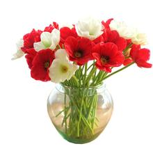 Artificial Mini Real Touch Poppies Flowers Decorative Bouquet for Home Decor Wonderful2.27