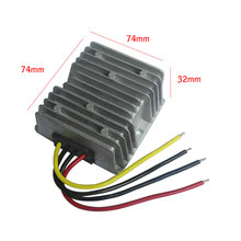 DC 24V To 24V 10A 240W Auto Step Up/Down Adapter DVD LED lights Power Supply Converter Waterproof Module(China)