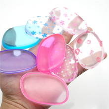 8Pcs Sample Silicone Sponge Blender Makeup Puff Sponge Liquid Foundation BB Cream Face Powder Applicator Beauty Make up Tools(China)