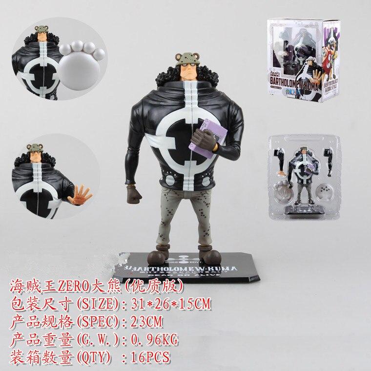 Anime One Piece Shichibukai Tyrant Bear Bartholomew Kuma Figuarts Zero PVC Action Figure Collectible Model Toy 9 23cm  KB0575<br>