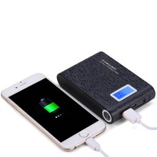 Original PINENG PNW - 913 Dual USB Charging 10000mAh Portable Power Bank External Battery Charger  LCD Screen For iPhone Samsung