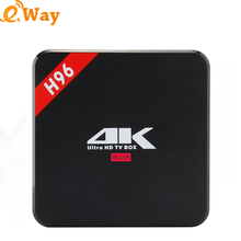 2017 H96 RK3229 Octa-Core Android TV Box Android 6.0 1GB DDR3 8GB NAND FLASH Set Top Box HDMI 2.0 WIFI 4K Media Player