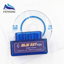 Universal OBD V2.1 ELM327OBD2 Bluetooth AutoScanner OBDII 2 Car ELM 327 Tester Diagnostic Tool for Android Windows Symbian