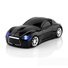 Wireless Mouse Infiniti Sports Car Mouse 2.4Ghz USB Computer Mice Optical with LED Flashing Light(China)