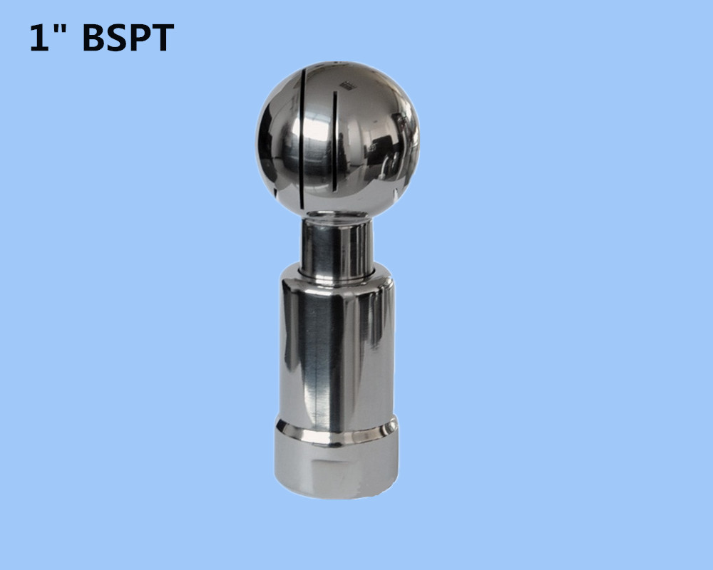 1 Stainless steel 304 rotating tank cleaning ball,thread rotary nozzle, Rotary Spray Ball for tank cleaning<br><br>Aliexpress