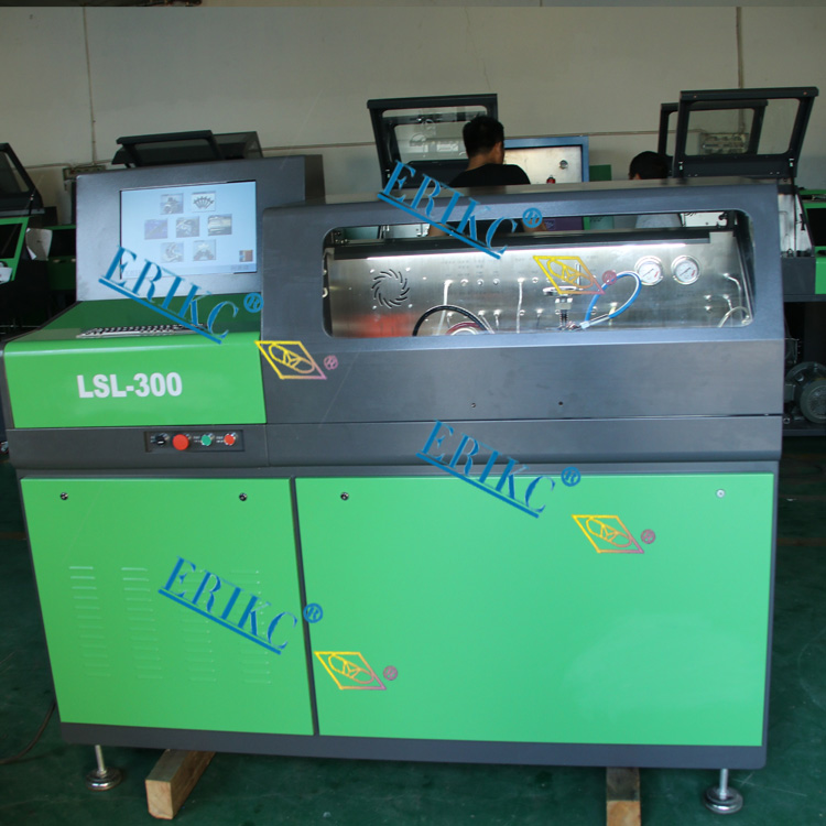 ERIKC auto fuel injector test bench,LSL-300 vehicle testing bench (2)