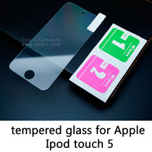Glossy Lucent Frosted Matte Tempered Glass Protective Film On Screen Protector For Apple Ipod touch 5 5th generation A1421 A1509