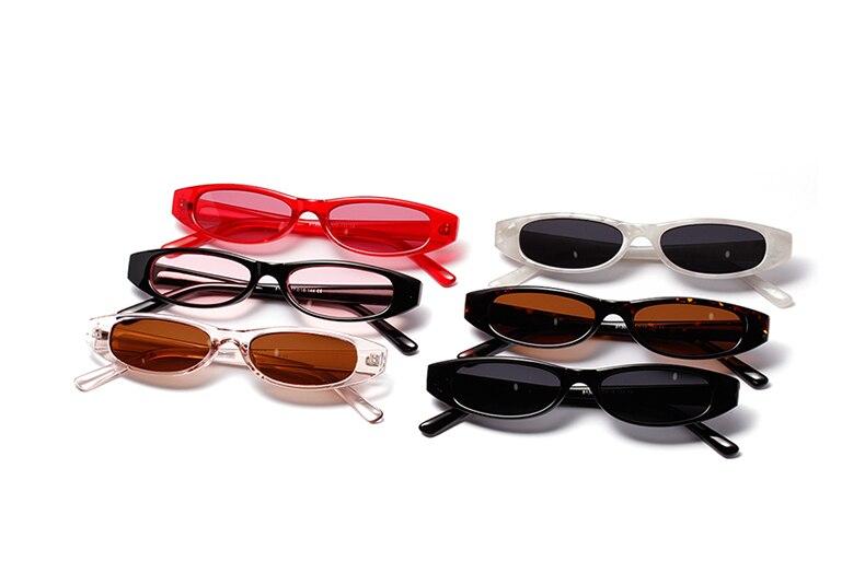 Ralferty 2018 na moda do vintage óculos de sol das mulheres pequeno ... caea8e4802