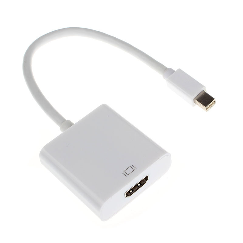 NEW Mini DisplayPort DP Male to HDMI Female Thunderbolt Audio Vidoe Adapter Cable For Macbook AIR PRO For iMac For MAC<br>