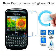 Soft Explosion-proof Nano Protection Film Foil for BlackBerry 8520 9300 Film Screen Protector Not Tempered Glass(China)