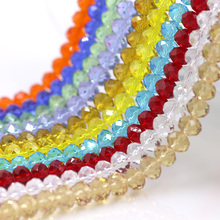Plastic Rondelle Beads10MM(72PCS/LOT)New Semi Crystal Glass Wheel Beads for Jewelry Making Cabochon Natural Stone Mix Beads(China)