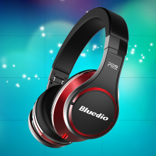 Bluedio U(UFO) Bluetooth Headphone/Headset Patented 8 Drivers/3D Sound/Aluminum Alloy/HiFi Wireless Headphone