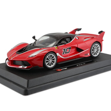 Brand New Burago1:24 Rafa FXXK models original simulation alloy sports car model furnishing articles collection of gifts