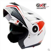 GXT white red motocross open face motorcycle Helmet, MOTO electric bicycle safety headpiece,motorcyclist biker helmets(China)
