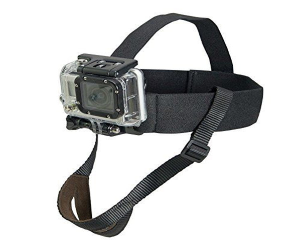 MustHD Chest & Head Strap Mount Accessories Kits for GoPro  SJCAM etc Sport  Action Cameras