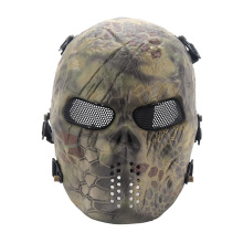 Typhon Ghost Camouflage Tactical Outdoor Military Game Paintball Balaclava Airsoft Skull Full Face Protect Mask