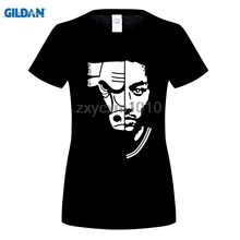 GILDAN Chicago T-Shirts women Fashion Short Sleeve Derrick Rose Printing T-Shirt Male Brand Clothing Black White(China)