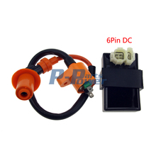 Performance Ignition Coil DC CDI For Kymco SYM Vento Scooter GY6 Engine Parts(China)
