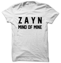 ZAYN Mind of Mine ZAYN Shirt 1D Print on Front side  Unisex T-Shirt T1769