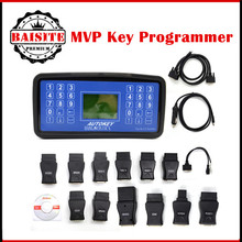 Professional MVP Key Maker Car Key Programmer MVP Transponder No Tokens Limited Read&Clean Fault Code Reader Add More Functions(China)