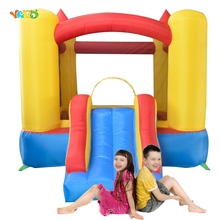 YARD Inflatable Bouncer Outdoor Indoor Play Mini Trampoline Best Gift for Kids Blower Included