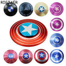 Buy Toys Hand Spinner Batman Captain America Iron Man Fidget Spinner Metal Tri-Spinner Anti Stress Fingertips Toys fidget spinner for $2.98 in AliExpress store