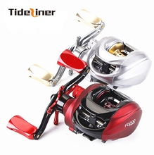 Tideliners Baitcasting fishing Reel Left Right Hand Saltwater Bait Casting Fishing Reels 6.3:1 Brake force 5.5kg 13+1 Bearings(China)