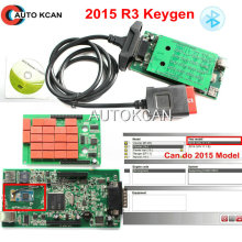 Hot Sale 2015.R3 keygen Support More Cars Model New vci Full cdp with bluetooth SCANNER TCS cdp pro plus with LED 3 IN1