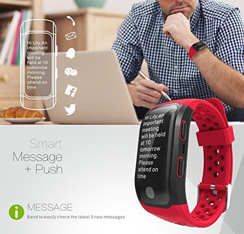 Smartwatch GPS IP68 Waterproof Wristband (3)