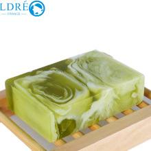 New arrival tea colorful oil soap tea mist anti-inflammatory acne handmade soap(China)