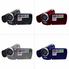 DV139 1.7 inch LCD 12MP 720P HD Mini Digital Video Camera DV Camcorder DVR 4 x Zoom four colors