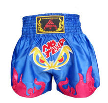 Kids/Adult Women/Mens MMA Shorts Embroidery Kick Boxing Trunks Boxe Muay Thai/Taekwondo/Muay Thai Karate Clothes DPAE(China)