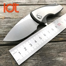 LDT Malyshev Gnome Folding Knife D2 Blade Titanium Handle Camping Outdoor Survival Knives Tactical Knife Mini Pocket EDC Tools(China)
