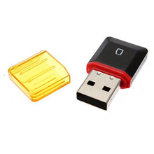Wholesale USB 2.0 High Speed Mni Portable Card Reader For Micro SD SDHC TF Card Writer Memory Card Adapter Support 32GB