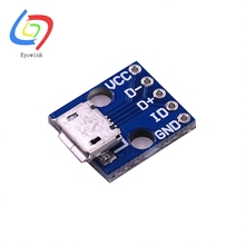 1PCS CJMCU Micro USB Interface Board Power Switch 5V Interface New