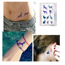 2016 Good Qiuality Sales Hot Gradient color tattoo tattoo stickers waterproof cool body decoration New(China)