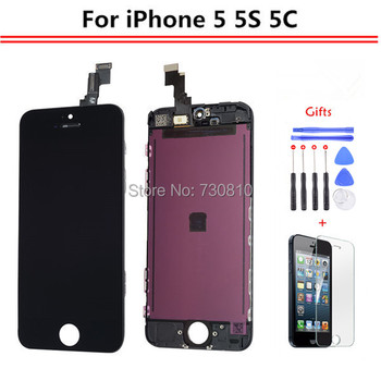 Elekworld AAA Quality No Dead Pixel Pantalla For iPhone 5 5s 5c LCD Display Screen